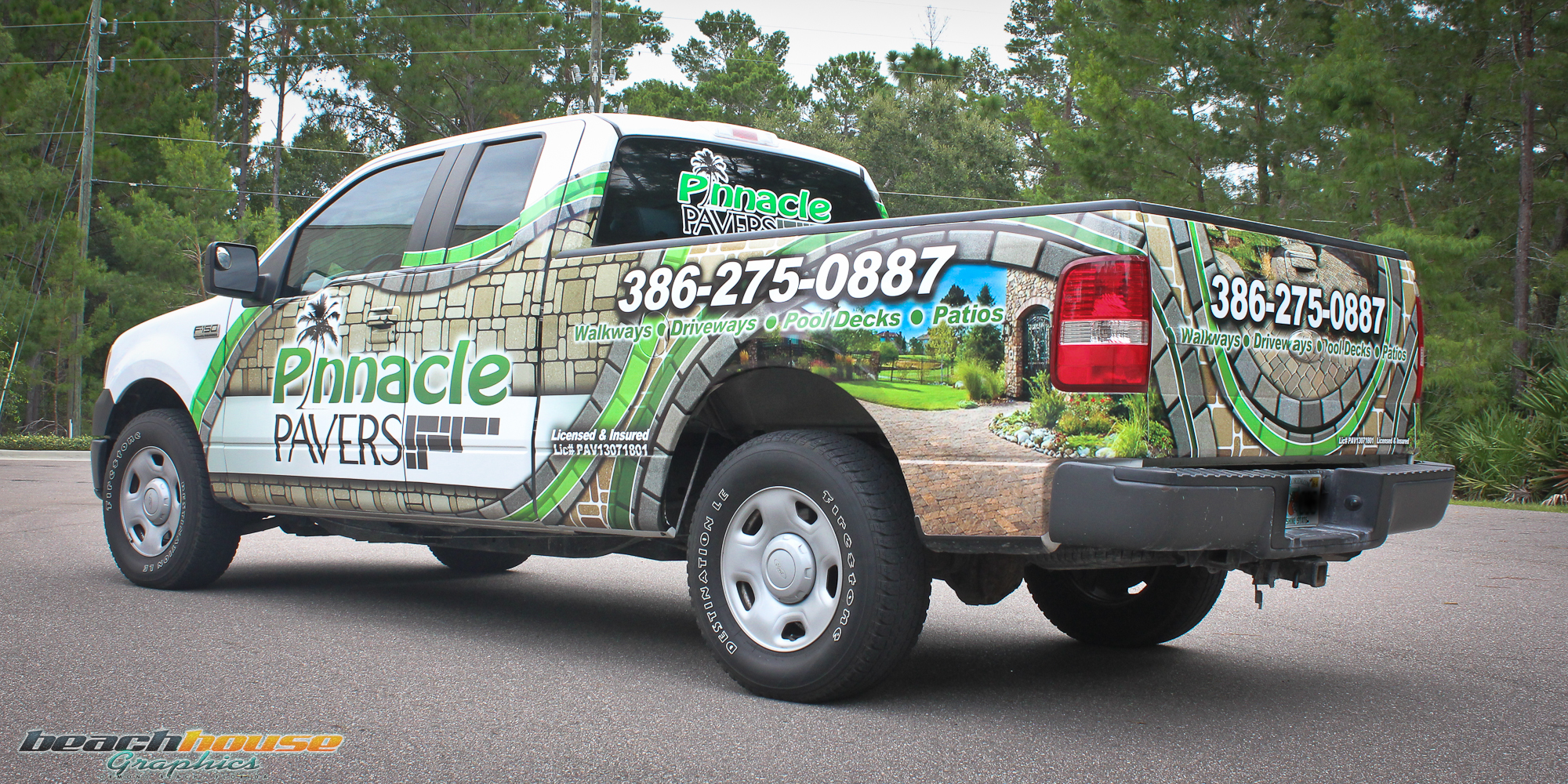 Central Florida Vehicle Wraps Truck Graphics Vinyl