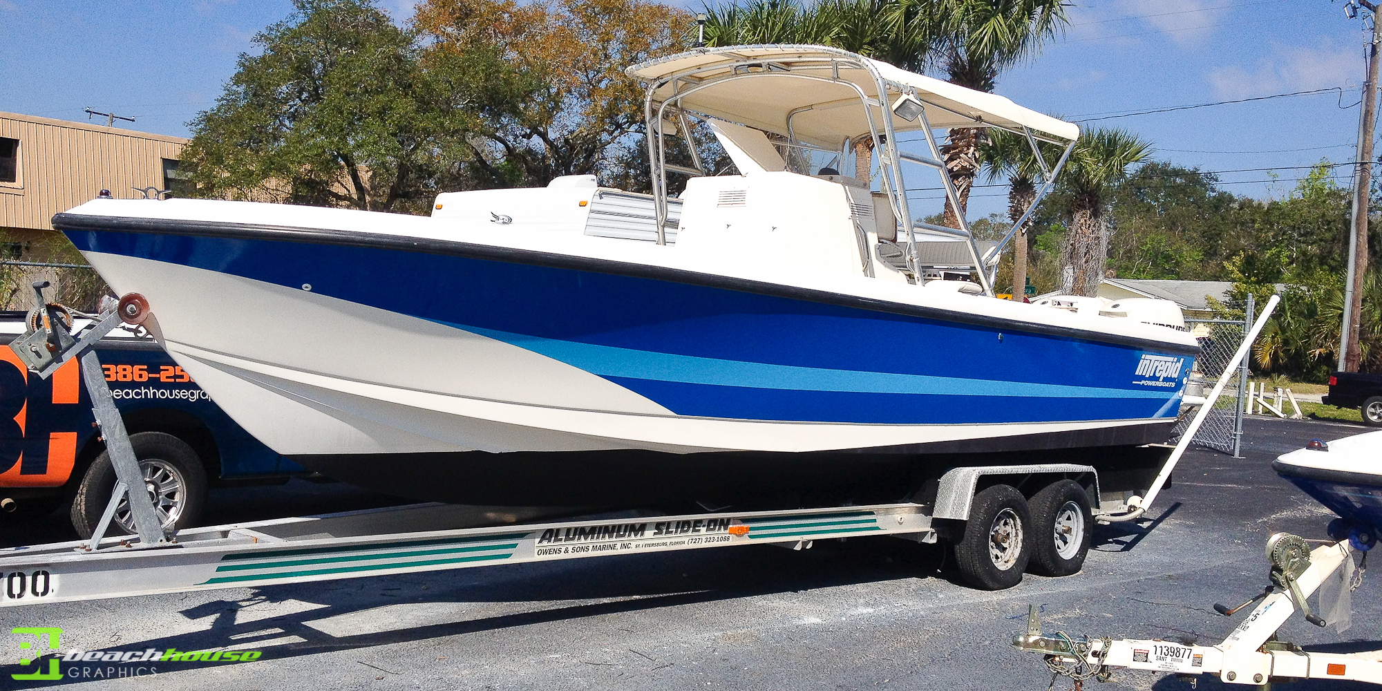 Boat Wrap Custom Vehicle Wraps - Vinyl boat graphics decals
