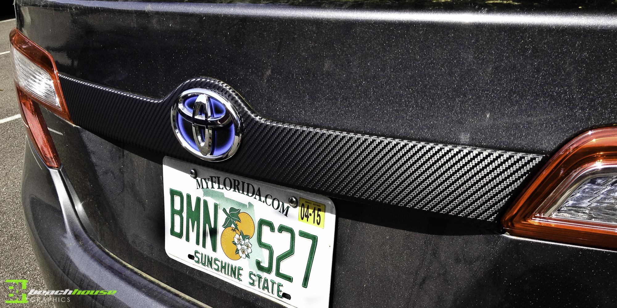 Vinyl Lettering Carbon Fiber 3m Decals Daytona Beach Port