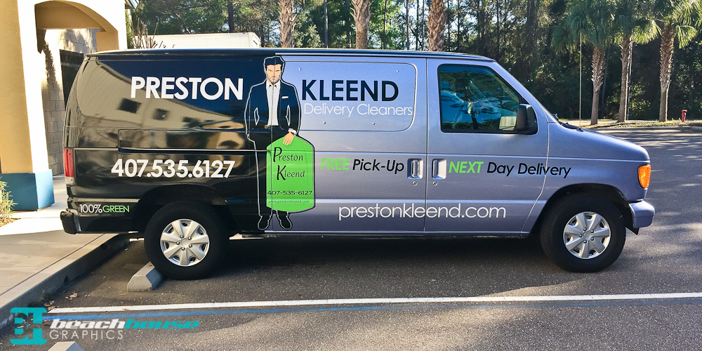 Port Orange Vehicle Wrap and Advertising