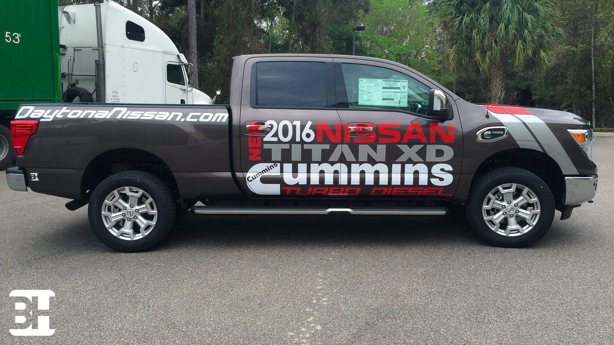 Decals, and vinyl stickers to advertising for the dealership